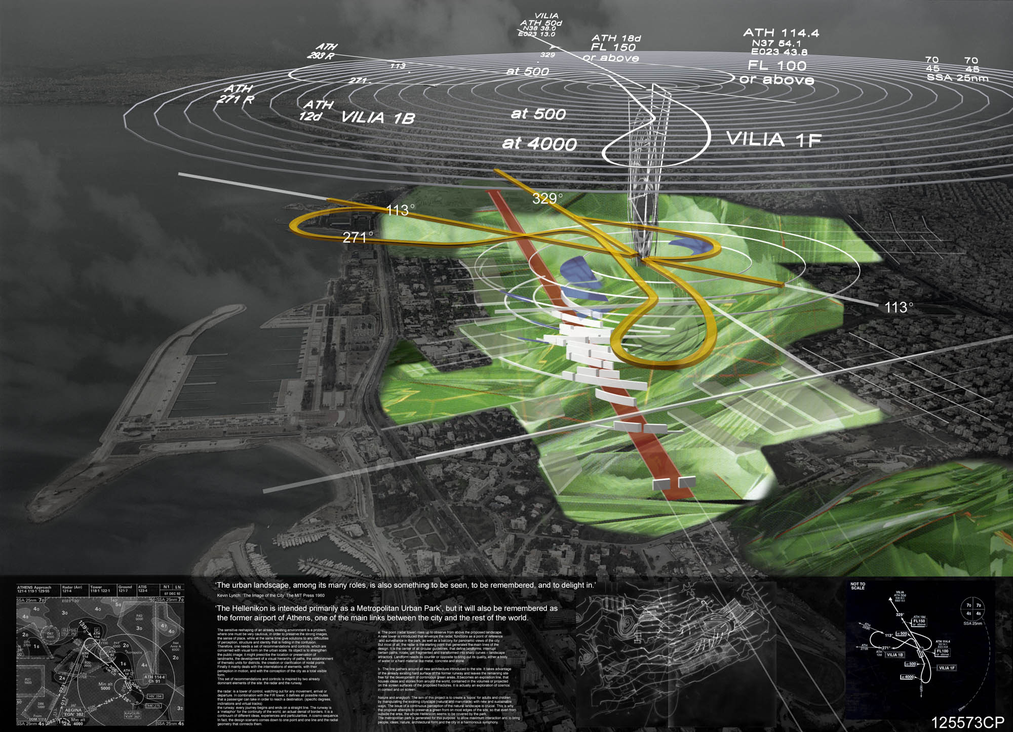 International ideas competition / Hellenikon Metropolitan Park and urban development