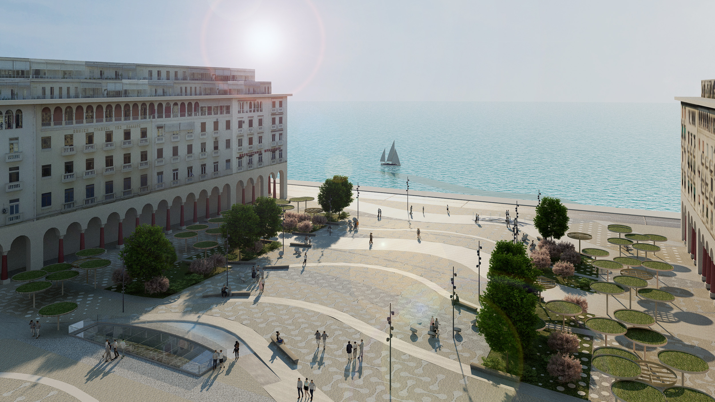 3nd prize winner – Redesign of Aristotelous Square & Axis